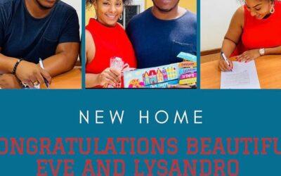 Congratulationsto your new home!